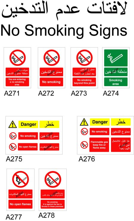 Arabic English Bilingual Signs in Wales